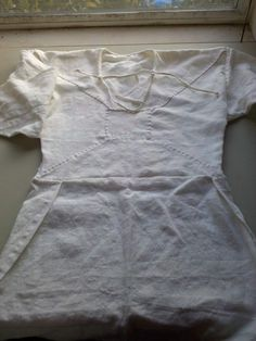 Viborg linen smock, Complete reconstruction Instruction! 11th century Viking tunic.