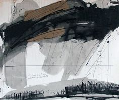 Drawings By Gunter Ludwig Called Landscape