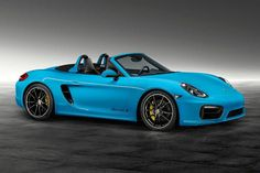 Image of Porsche Exclusive Unveils Boxster S in Riviera Blue
