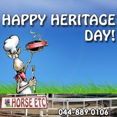 Horse ETC would like to wish you all a fantastic Heritage Day! How will you be celebrating your heritage today? #heritageday #braaiday #lifestyle