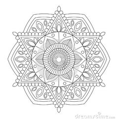 flower-snowflake-mandala-adult-anti-stress-coloring-page-isolated-white-background Vector Company, Company Logo, Anti Stress, Snowflakes, Coloring Pages, Mandala, Logo Design, Flower, Quote Coloring Pages