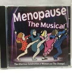Menopause The Musical CD Women The Change Original Songs from the Musical Play #ComedyMusicalOriginalCast