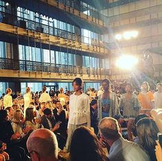 """Such a beautiful show! So proud of our team!  #toryburchss16 #nyfw"""