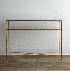 Contempoary BARSTOW Console Table Glass Iron MINIMALIST Intelligent Design,http://www.amazon.com/dp/B00BGTKON2/ref=cm_sw_r_pi_dp_A7Ydtb1278V81CZP