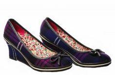 Tartan Wedge Shoes, Heritage of Scotland