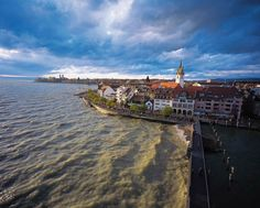 Friedrichshafen on the Bodensee, Germany // can't wait :)