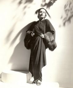 Costume by Travis Banton : Carole Lombard in Rumba