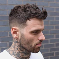 Mens Short Wavy Hairstyles Lovely 30 Best Men S Fade Haircut Styles 2019 Guide Stylish Short Haircuts, Best Short Haircuts, Cool Haircuts, Hairstyles Haircuts, Cool Hairstyles, Barber Haircuts, Hairstyle Ideas, Formal Hairstyles, Mens Haircuts Quiff