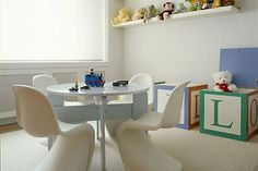 This Modern Playroom Features Stylish Furniture