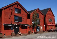 Old Storehouse dans le centre-ville d'Oulu en Finlande