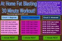 Fat Blasting Workouts   fit-chicks.com