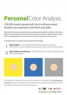 What is a personal #coloranalysis session all about blog post #inventyourimage