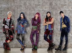 #Descendants2 Carlos, Evie, Mal, Jay and Ben