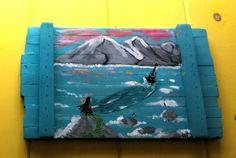 The MERMAID'S Song Coastal Art Scott D Van Osdol by MySalvagedPast