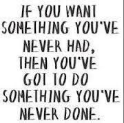 Do something you've never done...