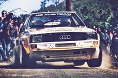 Lary, Audi Qyattro Sport S2.