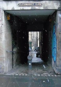 Fleshmarket Close High Street Royal Mile Edinburgh