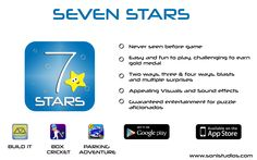 No one can play this game just once..!! https://play.google.com/store/apps/details?id=com.sonistudios.sevenstars