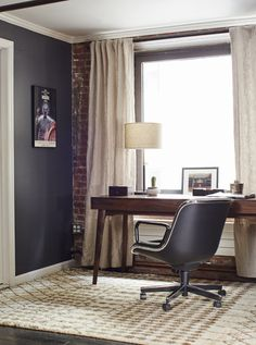 Office Space in a Stylish Home