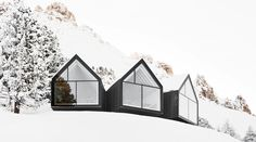 Peter Pichler Architecture, in collaboration with Arch. Pavol Mikolajcak, won a competition to design a new mountain hut at 2.000m in the Italian Dolomites i...