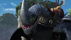 40% of why I watch the Dragons series is to see Toothless's expressions! XD | Windshear and Toothless