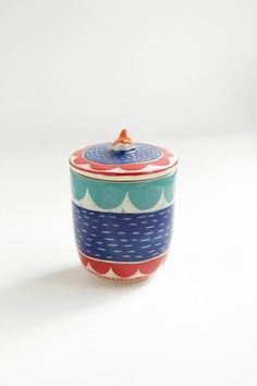 Frasco Tricolor - Mundo Cacharro Pottery Painting, Painted Pottery, Miniatures, Ceramics, Clay Ideas, Dollhouses, Tableware, Fun, Pictures