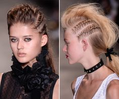All of the Must-See Beauty Looks from PFW's Spring 2017 Runways - Andrew GN from InStyle.com