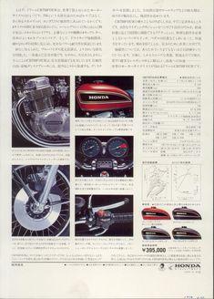 1974_HONDA_CB750Four K4 brochure.JAPAN_04 Honda 750, Brochures, Vintage Cars, Bike, Ads, Japan, Cool Motorcycles, Vintage Ads, Motorcycles