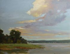 abstract landscape paintings with sky - Google Search