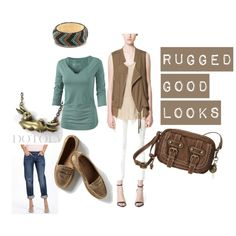 Rugged Good Looks by bettsi on Polyvore (Soft Natural/Soft Autumn)