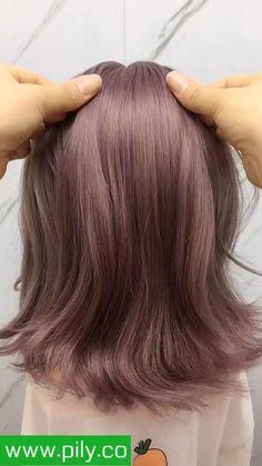 Green Hair, Hair Color Purple, Medium Hair Styles, Short Hair Styles, Short Grunge Hair, Hair Upstyles, Hair Streaks, Braids For Short Hair, Curly Short