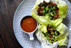 Salatskåle med spicy kalvebix