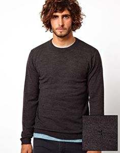 Image 1 ofASOS Star Embroidery Jumper