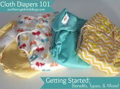 Cloth Diapers 101: Getting Started