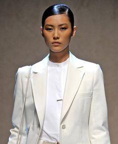 Androgynous look in Blazer