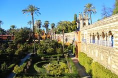 Alcazar of Sevilla. Spain