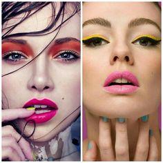 MAQUIAGEM COLORIDA PARA OUTONO/INVERNO http://tatysantos.com.br/maquiagem-colorida/