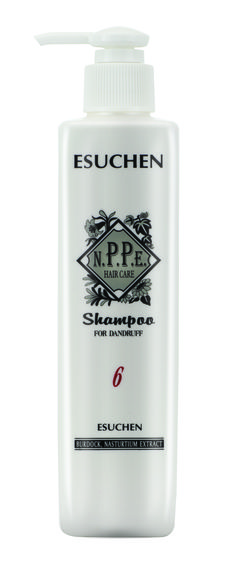 NPPE #6 Shampoo for Dandruff. Bardana, Camomila e Nasturcio. Anti Caspa e Seborréia. Orgânico no SALONE.