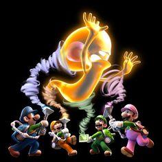 Multiplayer mode -Luigi's Mansion: Dark Moon #Luigi  #Nintendo