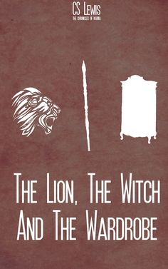 The Lion, the Witch and the Wardrobe minimalist poster (inspiration taken from elsewhere)