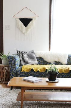 DIY Statement Weaving