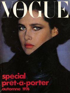 Dayle Haddon, Vogue Paris Août 1976.