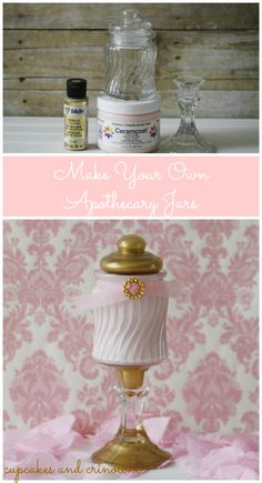 Make Your Own Apothecary Jar