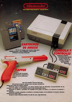 Classic Nintendo -- I still have all of whats in this pic. sad the gun doesn't work on the new flat screens. you need a CRT tv to make it work