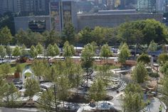 Award-winning Klyde Warren Park