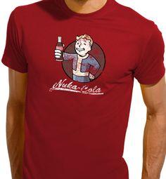 Vault Boy Nuka-Cola – Fallout Mens T-shirt