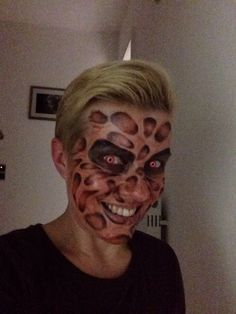 Halloween MakeUp, Freddy Krüger