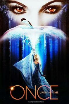 Awesome Evil Queen Regina and Elsa on an awesome Once poster for awesome Once season 4