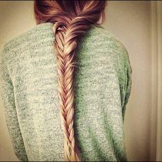 Fishtail braid<3