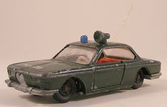 Bmw 2000 CS Polizei 1:55 Siku V266 police These are for sale by https://www.speelgoedenverzamelshop.nl/modelautos_en_auto_curiosa/schalen/1:32_-_1:63/bmw_2000_cs_politie_1:55_siku_v266_polizei_groen.html